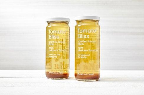 Clarified Tomato Broth Duo