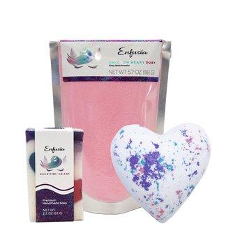 Unicorn Heart Gift Set