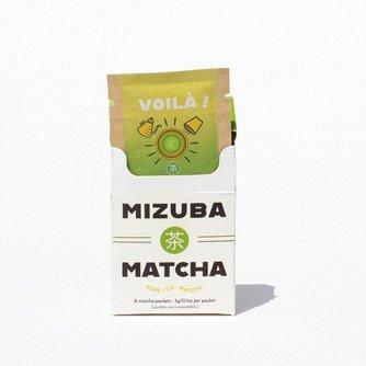 Mizuba Matcha Single-Serve Packs.