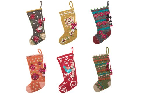 French Knot Stockings