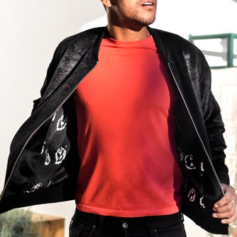 The Delaney Deluxe Bomber Jacket