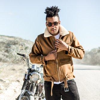 The Alberto Biker Jacket