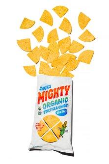 Zack's Mighty Tortilla Chips - 9 oz bag