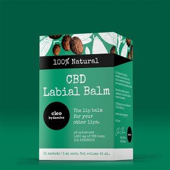 Cleo   CBD Labial Balm   15 Pack