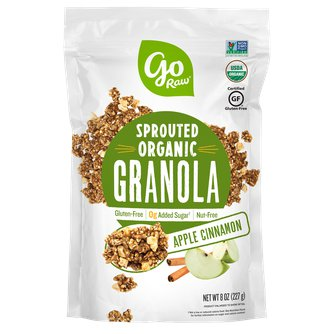 Sprouted Organic Apple Cinnamon Granola