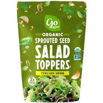 Italian Herb Sprouted Salad Toppers