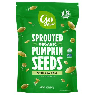 Sprouted Organic Pumpkin Seeds