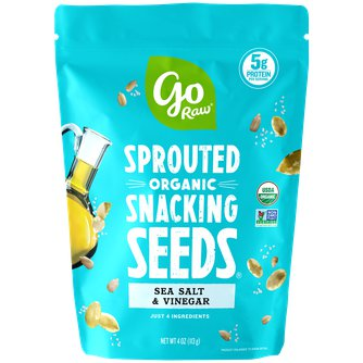Sea Salt & Vinegar Sprouted Snacking Seeds