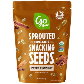 Sweet Cinnamon Sprouted Snacking Seeds