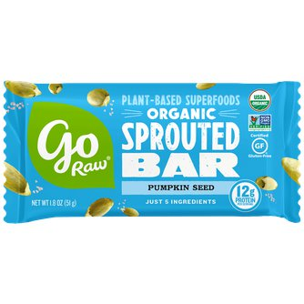 Organic Sprouted Pumpkin Seed Bar