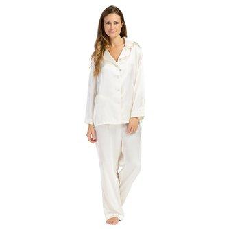 100% Mulberry Silk Classic Pajama Set