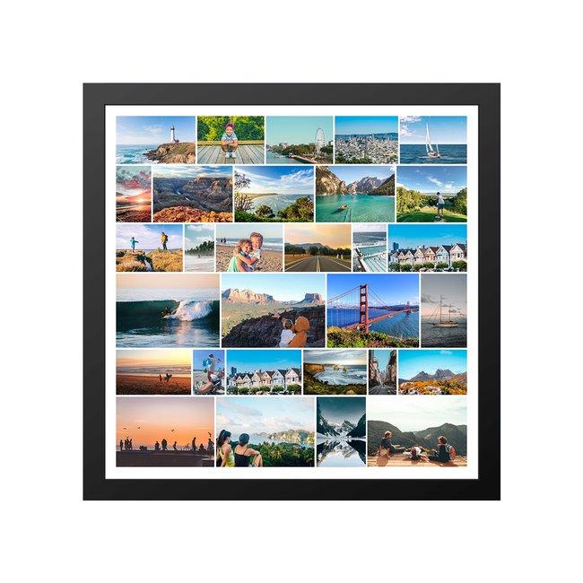 Framed Collage Port