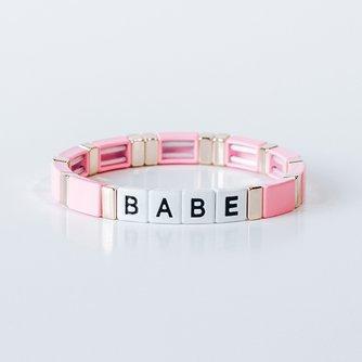 Block Bracelet - BABE