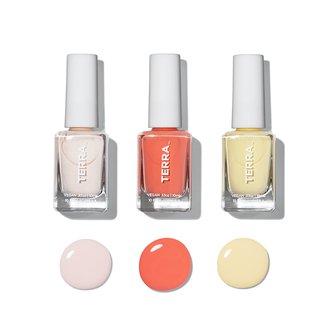 Summer Nail Polish Collection - Vegan and 10/free