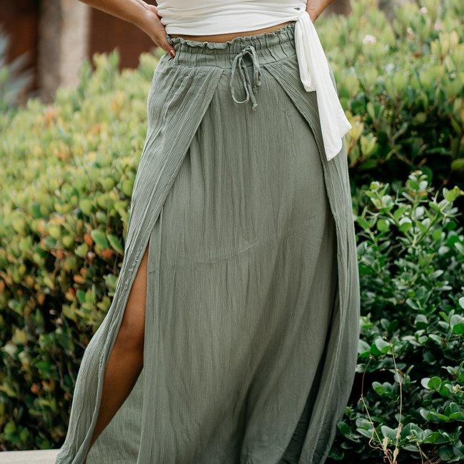 Tatiana Maxi Skirt - Size Large