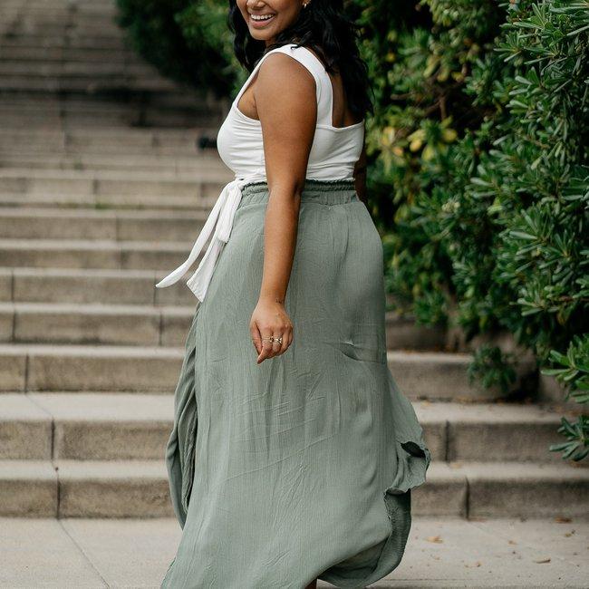Tatiana Maxi Skirt - Back