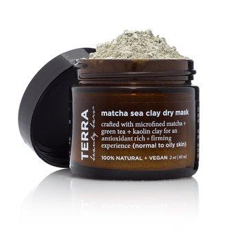 Matcha Sea Dry Clay Mask