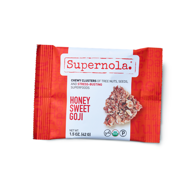 Honey Sweet Goji Chewy Clusters (Box of 12)