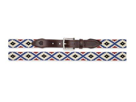 Aztec Needlepoint Belt