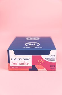 Immunity-Boosting Chewing Gum - Berrymint