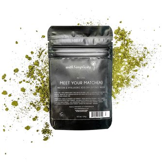 Meet your Match(a) - Matcha & Hyaluronic Acid Dry Defense Mask