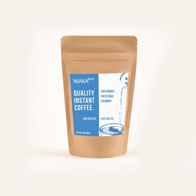 Medium Roast Colombian Instant Coffee 3.5 oz Bag