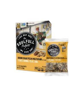 Brown Sugar Pecan multigrain hot cereal 5 Packet Carton