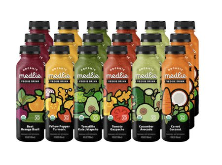 Organic Medlie Veggie Drink Three Day Cleanse (18 pack)