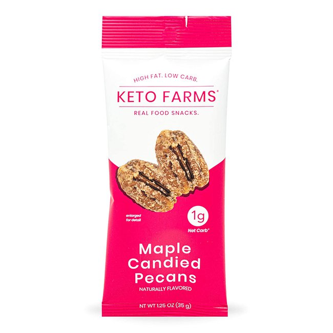 Keto Farms Maple Candied Pecans
