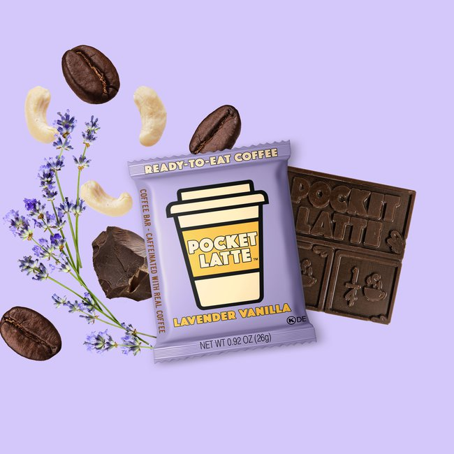 "Pocket Latte ""Lavender Vanilla"" Coffee Bar"