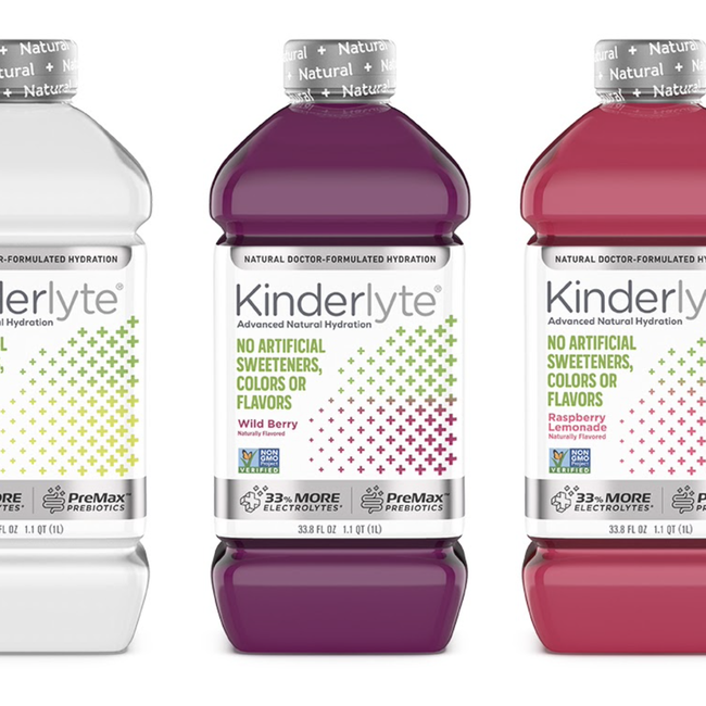 Kinderlyte Advanced Electrolyte Solution