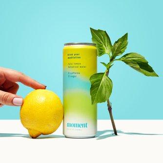 Tulsi Lemon Botanical Water
