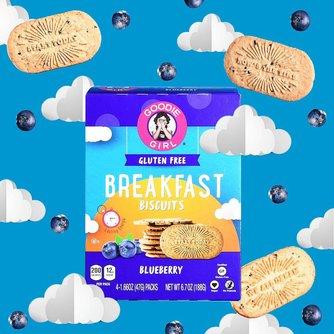 Blueberry Breakfast Biscuits