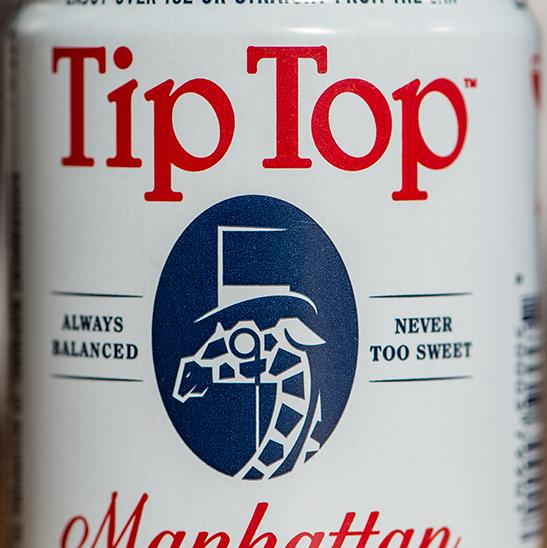 Tip Top Manhattan Cocktail (8-Pack)
