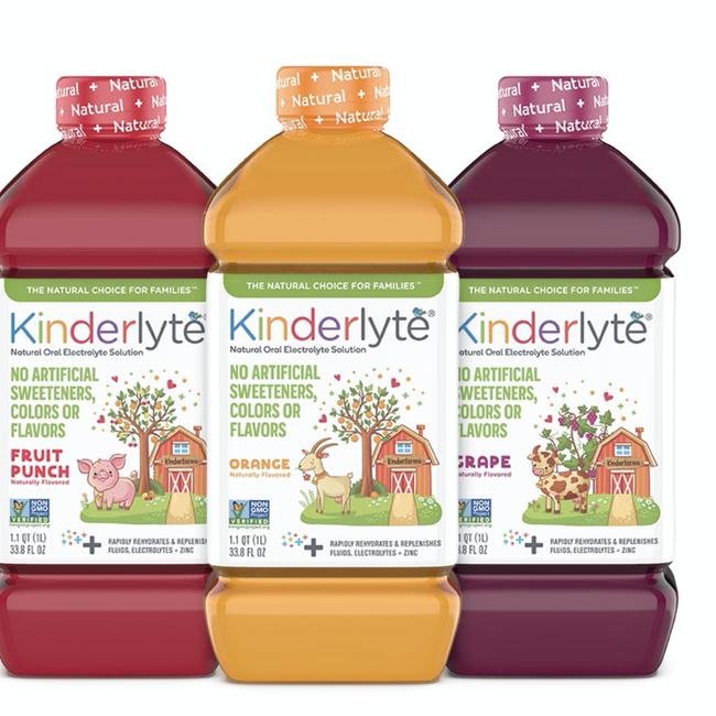 Kinderlyte Kids Electrolyte Solutions