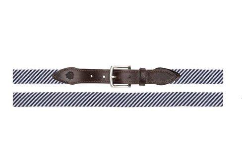 Seersucker Needlepoint Belt