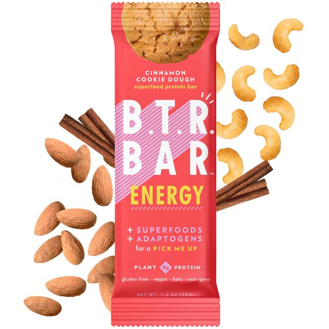 Cinnamon Cookie Dough ENERGY (4 Bars)