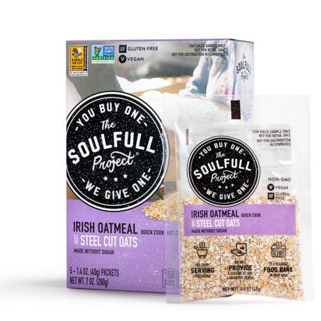 Quick Cook Irish Oatmeal Hot Cereal 5 Pack Carton