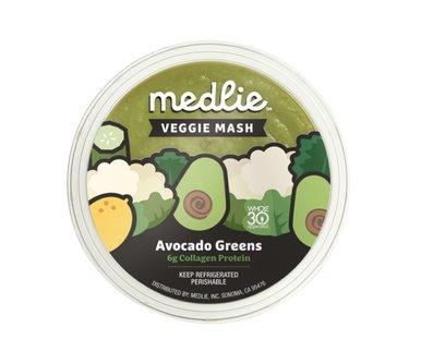 Medlie Veggie Mash Avocado Greens with Collagen