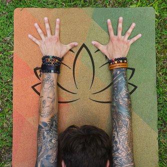 Lotus Flower MantraMat Yoga Mat