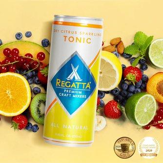 Dry Citrus Sparkling Tonic
