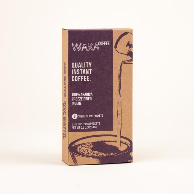 Light Roast Indian Single-Serve Instant Coffee