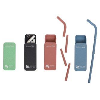 Silicone Build-A-Straw