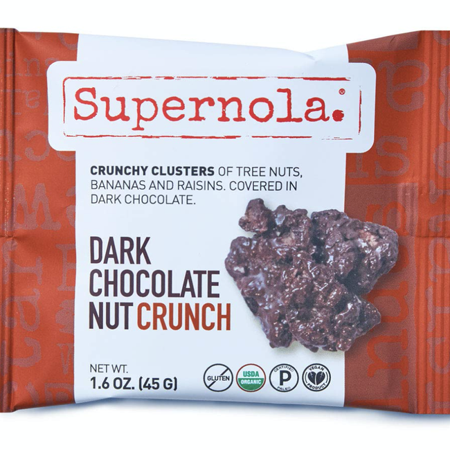 Dark Chocolate Nut Crunch Clusters