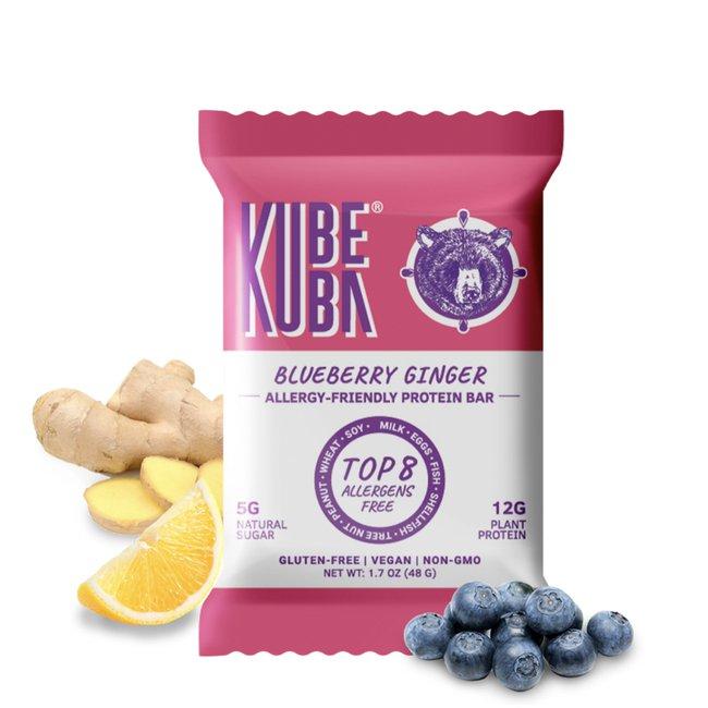 Blueberry Ginger - 6 Bar Box
