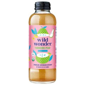 Turmeric Pear Sparkling Antioxidant Infusion