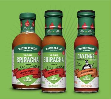 No Sugar Veggie Sriracha (Veracha) + Cayenne Hot Sauce
