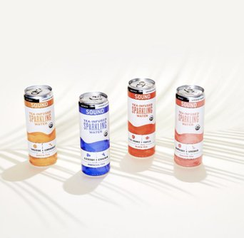 Tea-Infused Sparkling Water Sample