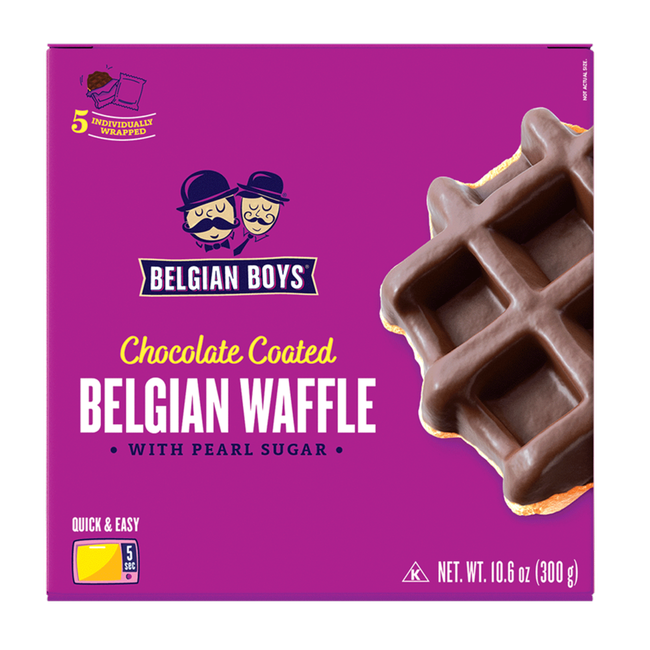 Chocolate Coated Belgian Waffle