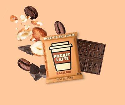 "Pocket Latte ""Hazelnut"" Coffee Bar"